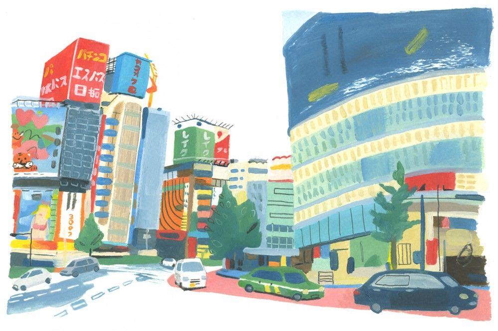 Grace-Helmer-Personal-work-Shinjuku