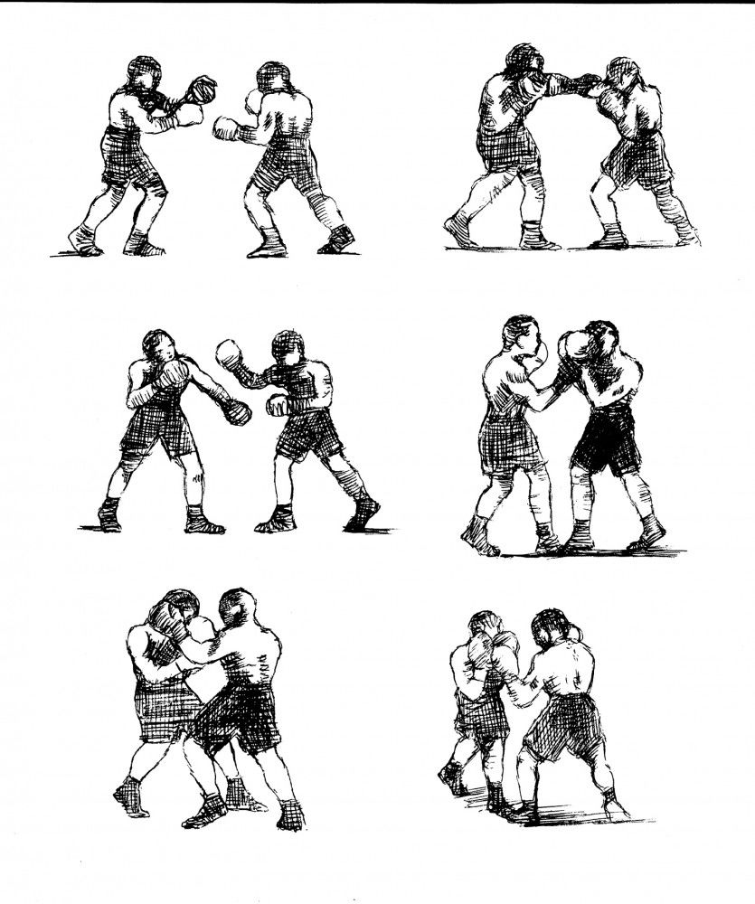 Alain-Pilon-Sketches-on-boxing