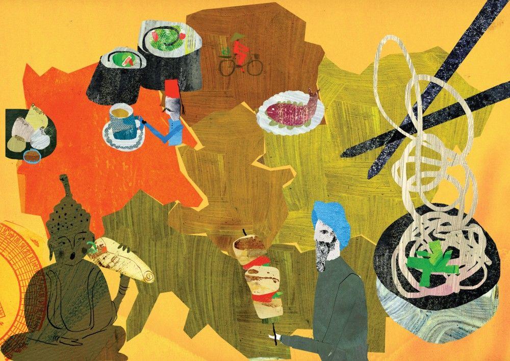 Andrea-dAquino-London-in-50-Maps-World-food