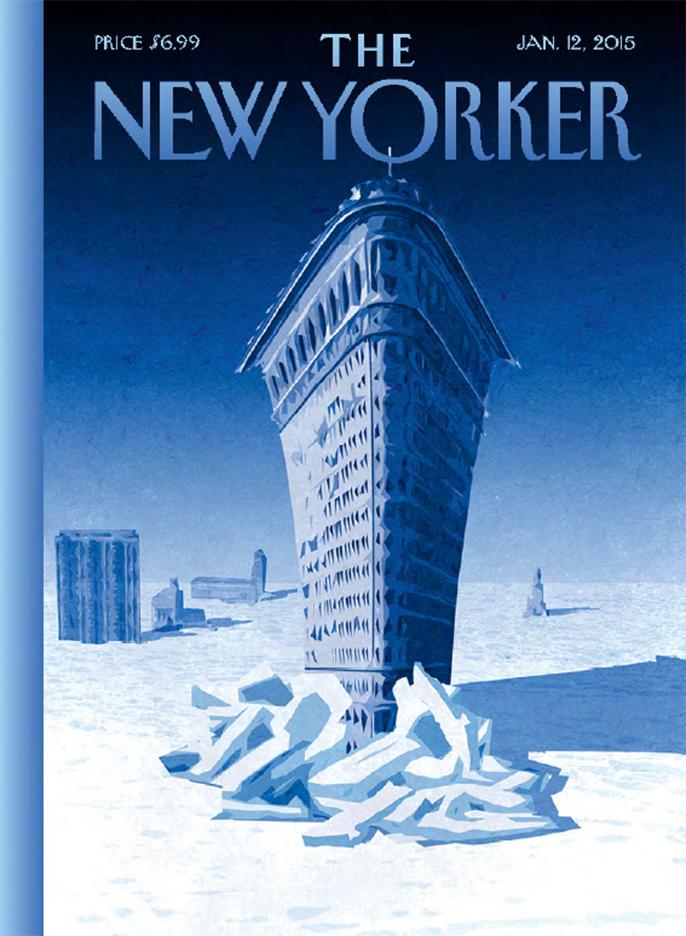 Birgit-Schössow-New-Yorker-Magazine-cover-Flatiron-Icebreaker
