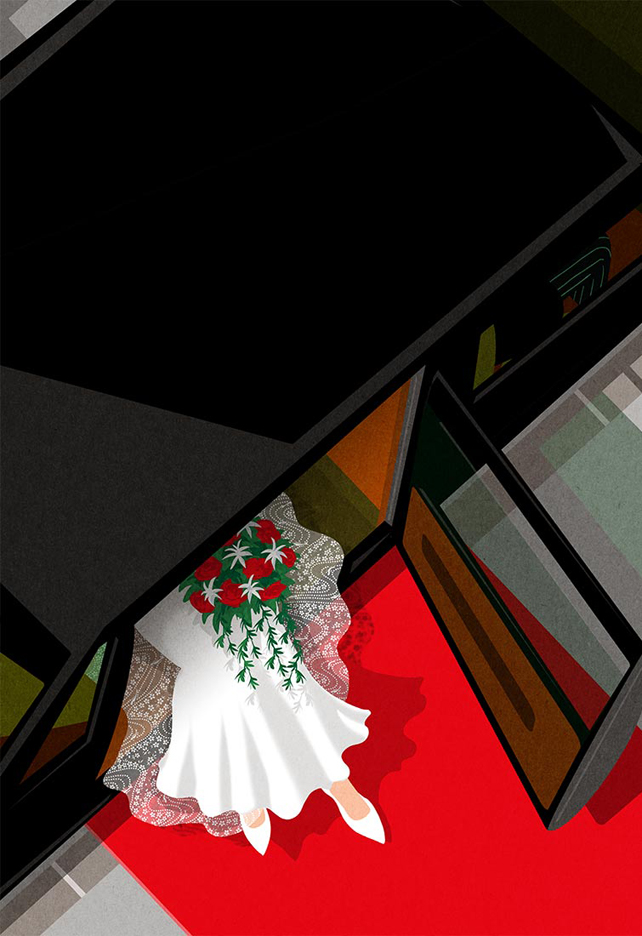 Birgit-Schössow-Proposition-for-the-New-Yorker-cover-Wedding