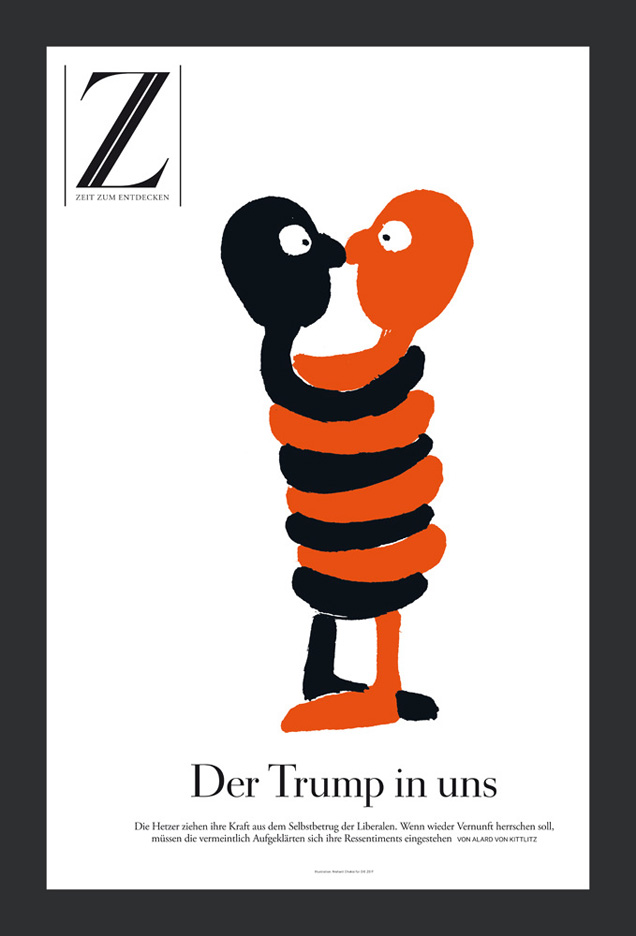 DIE-ZEIT-The-Trump-in-us-Cover-illustration