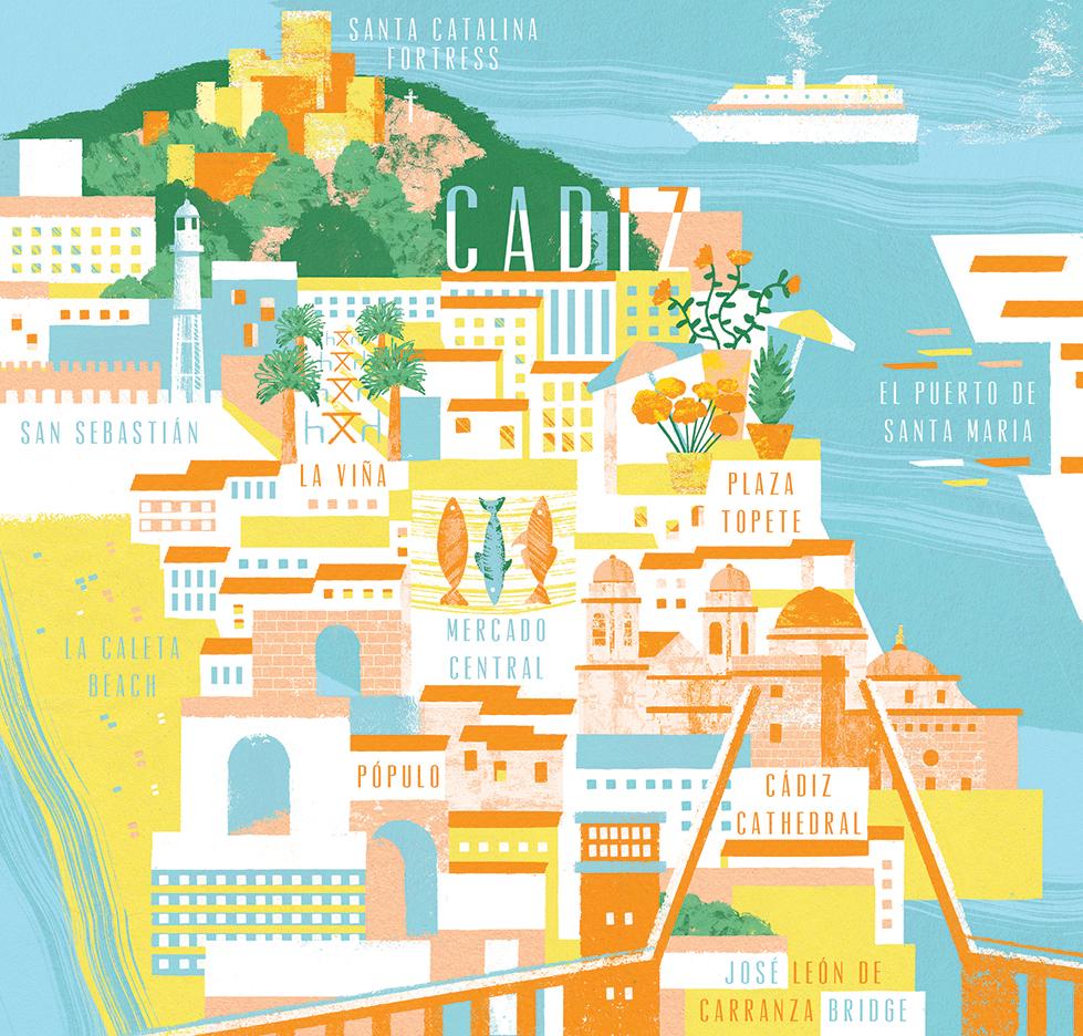 Daniel-Clarke-Jamie-magazine-Map-of-Cadiz-Spain