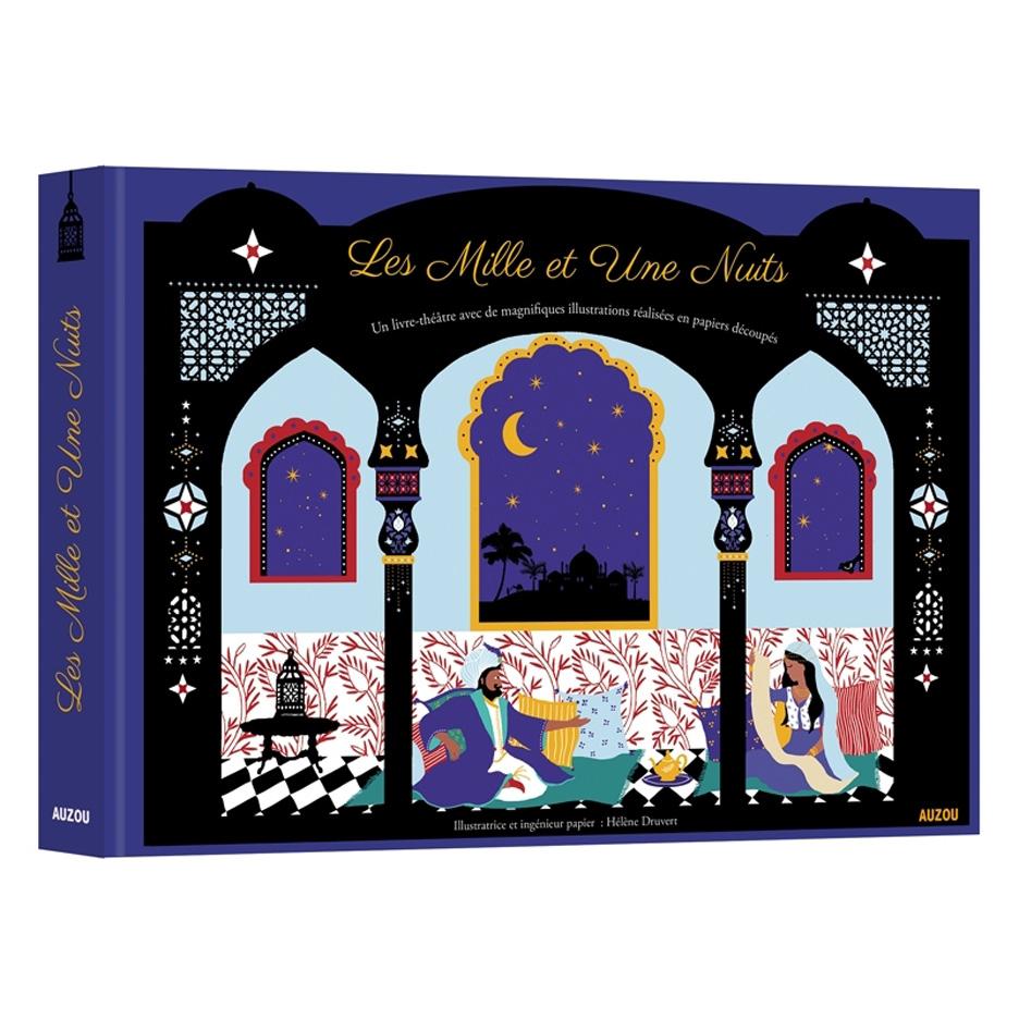 Hélène-Druvert-Book-Cover-Les-Mille-et-Une-Nuits-Auzou-publisher