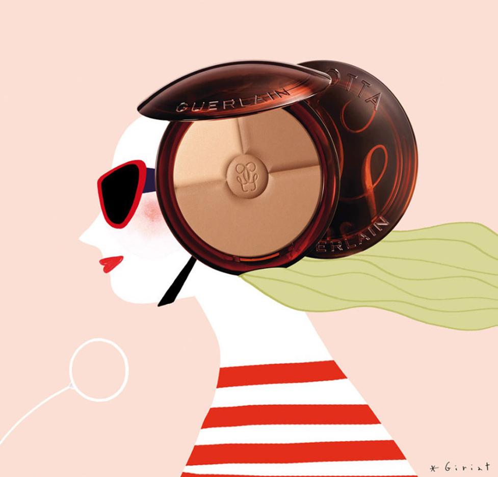 Illustration-for-Marie-France-magazine-Guerlain-