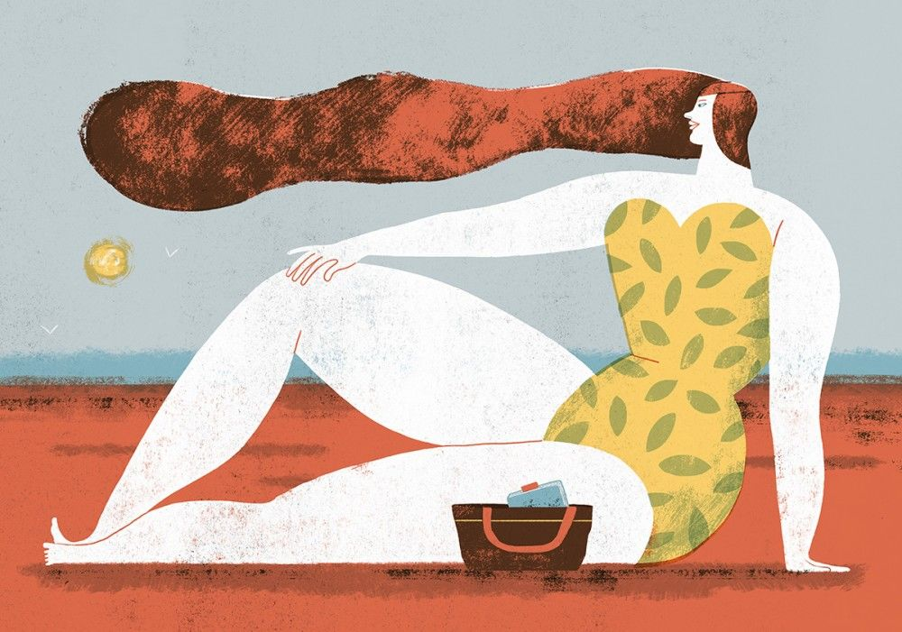 Illustration-for-The-New-York-Times-everyone-feels-good-wearing-swimsuit-