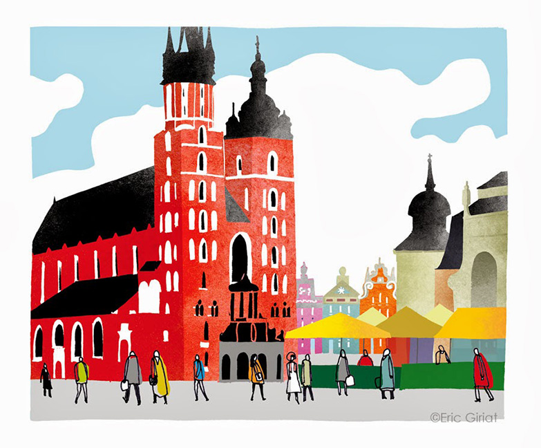 Illustration-for-the-Lonely-Planet-conversation-guide-Polish-