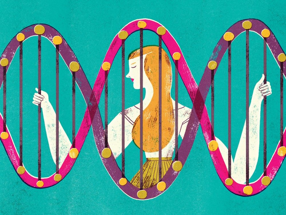 Illustration-for-the-New-York-Times.-Genetic-and-cancer.