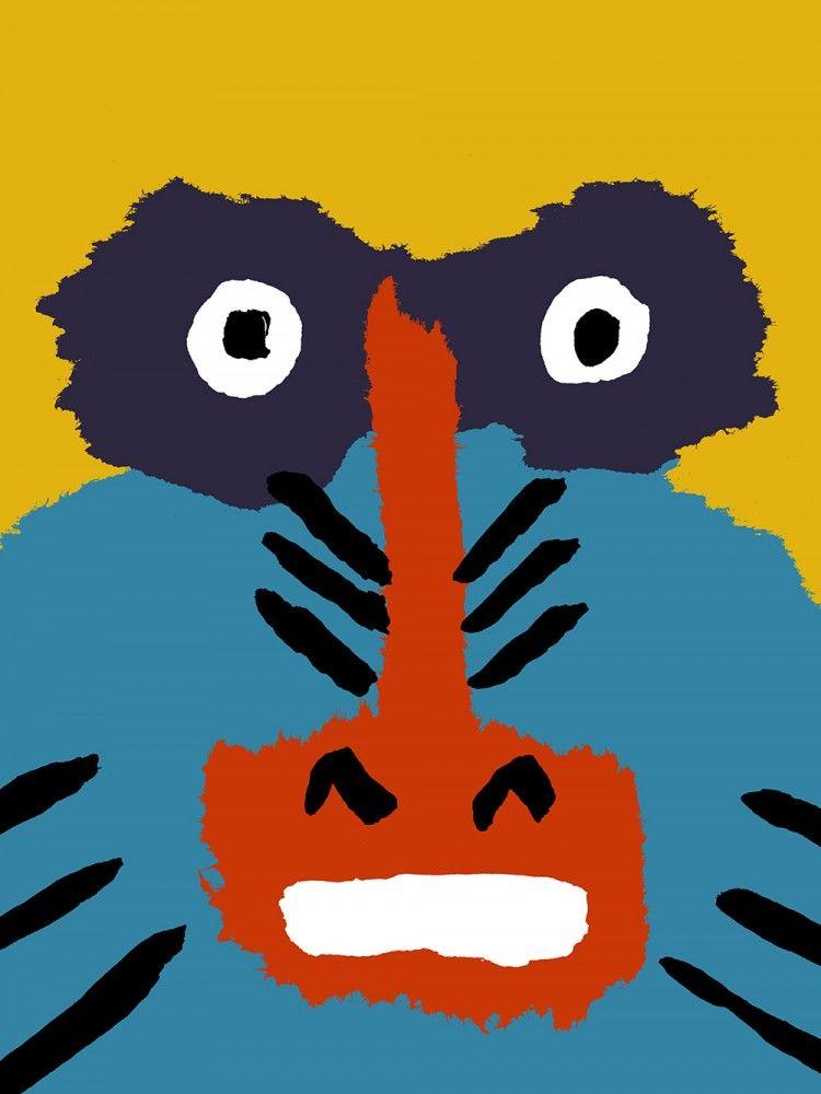 Illustration-in-Le-Vaillant-Petit-Gorille-Comme-des-Geants-publisher-