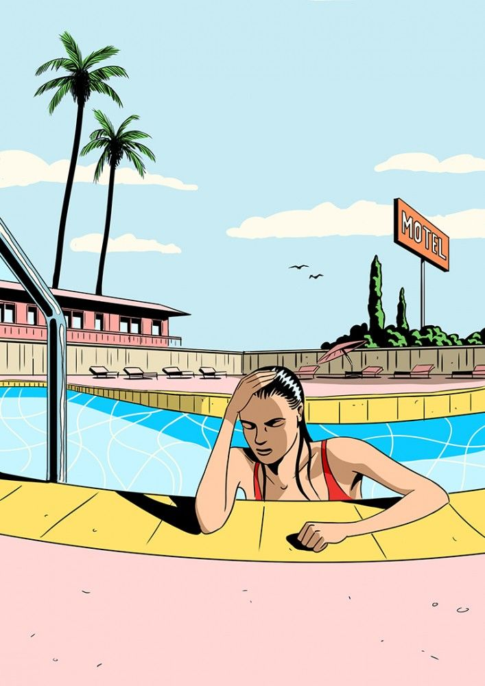 Jack-Richardson-Personal-work-Motel-Pool