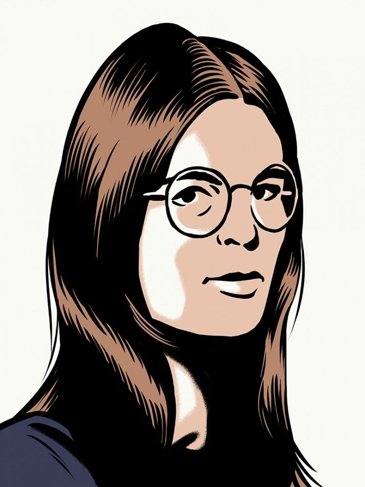 Jack-Richardson-Portrait-of-Gloria-Steinem