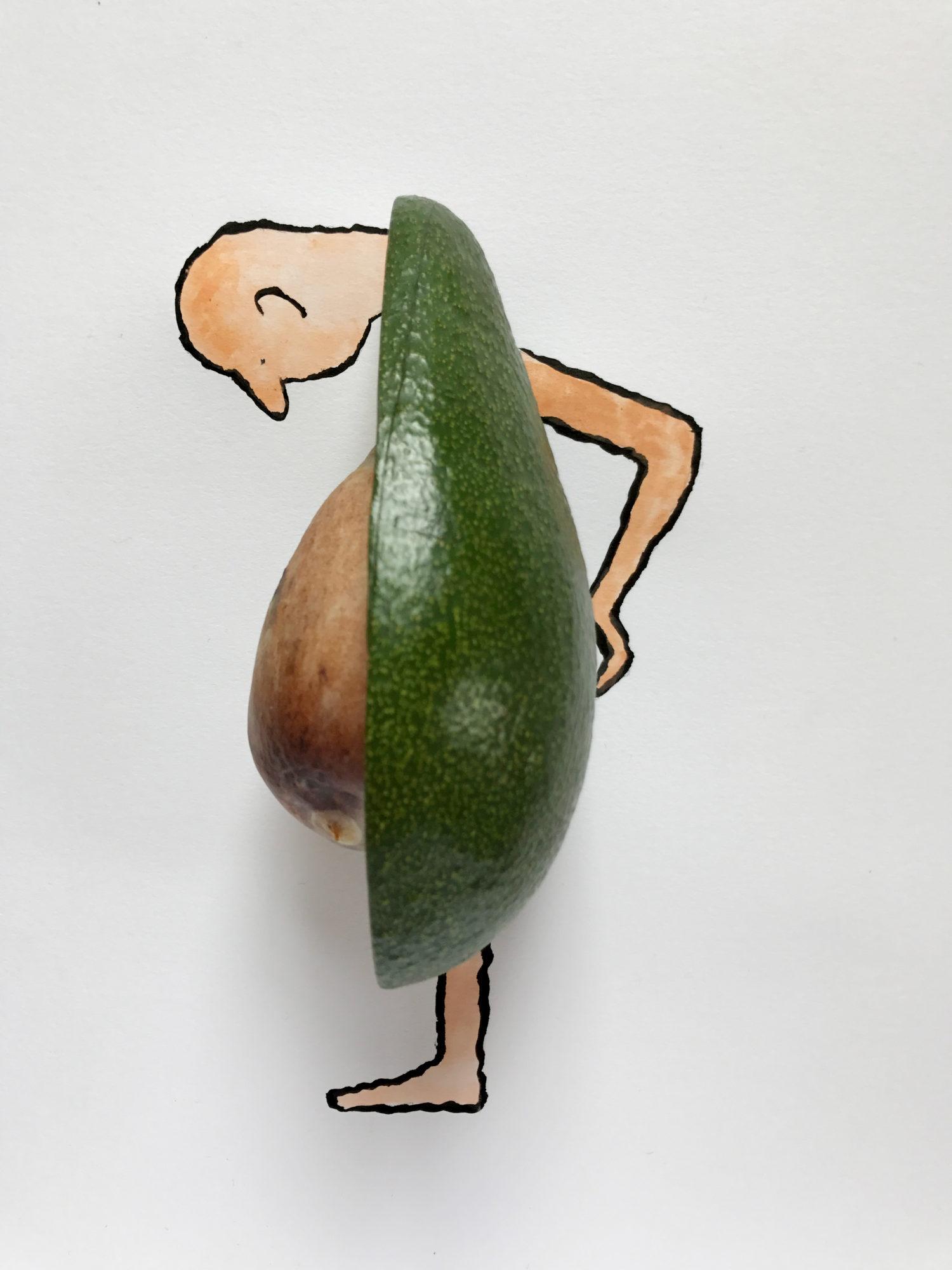 Jean-Jullien-Pidapipó-gelato-cookbook-Avocado