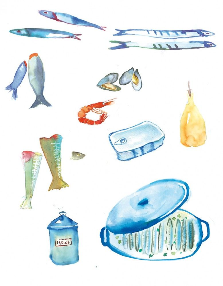Julia-Perrin-Personal-work-Sea-food