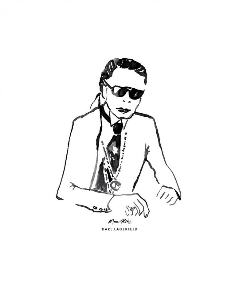 Julia-Perrin-Portrait-of-German-designer-Karl-Lagerfeld-for-The-Ritz