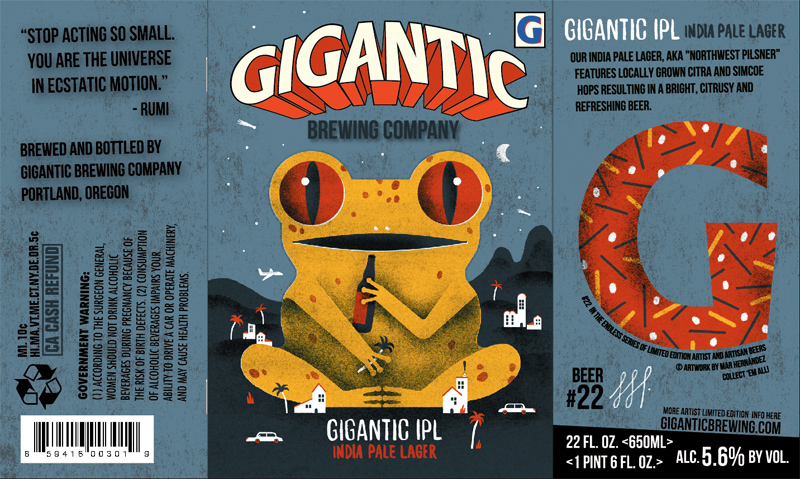 Label-design-for-a-limited-edition-of-Gigantic-beer2