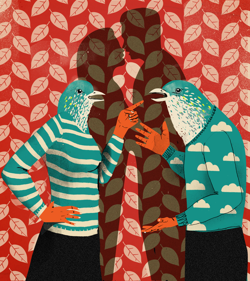 Lehel-Kovacs-Illustration-for-the-L.A.-times-Love-birds