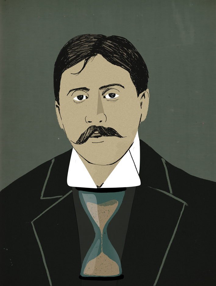Lehel-Kovacs-Portrait-of-French-writer-Marcel-Proust