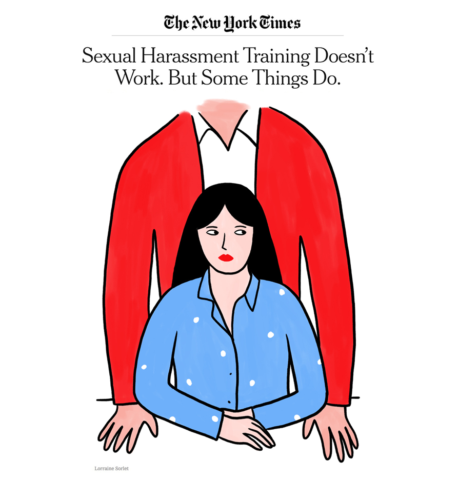 Lorraine-Sorlet-Illustration-for-The-New-York-Times-Sexual-Harassment-Training-Doesnt-Work.-But-some-things-do-2