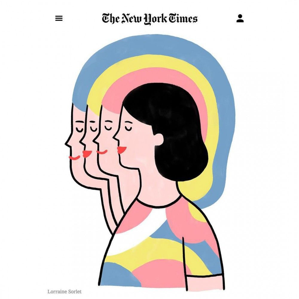 Lorraine-Sorlet-Illustration-for-The-New-York-Times-The-power-of-positive-people