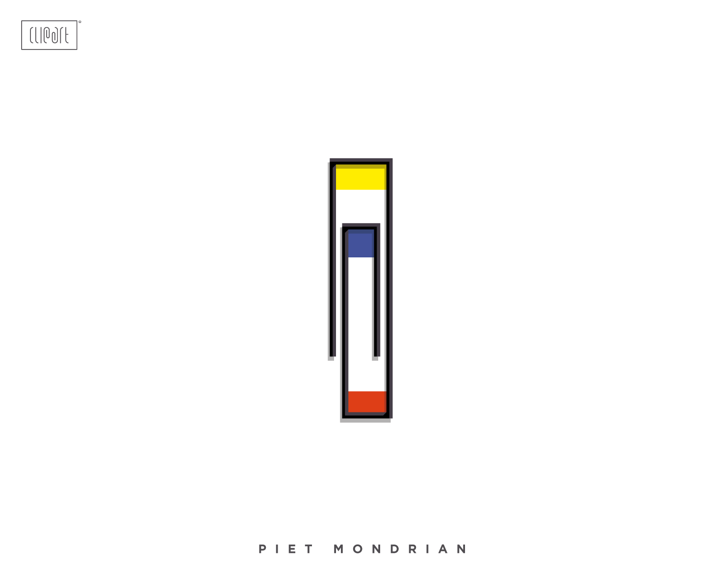 Mauco-Clipart-Project-Piet-Mondrian