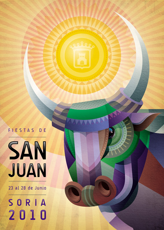 Mauco-Poster-for-Fiestas-de-Soria