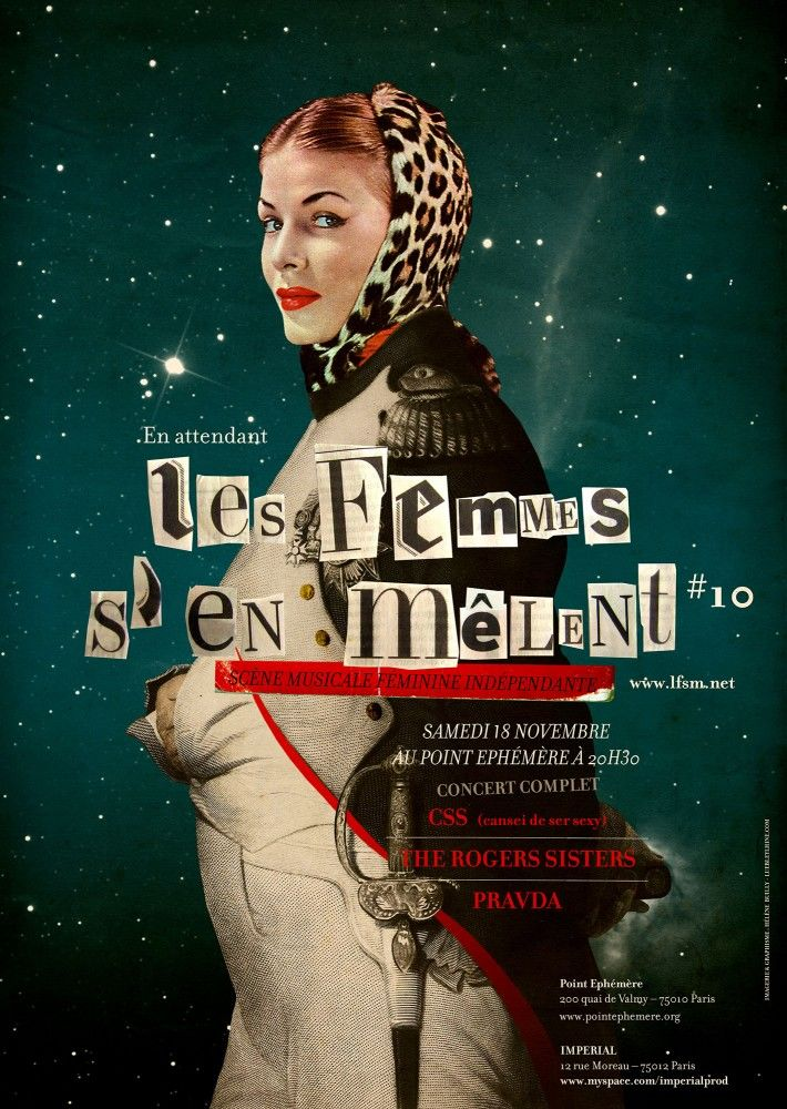 Poster-for-a-French-music-festival-Les-Femmes-Sen-Melent