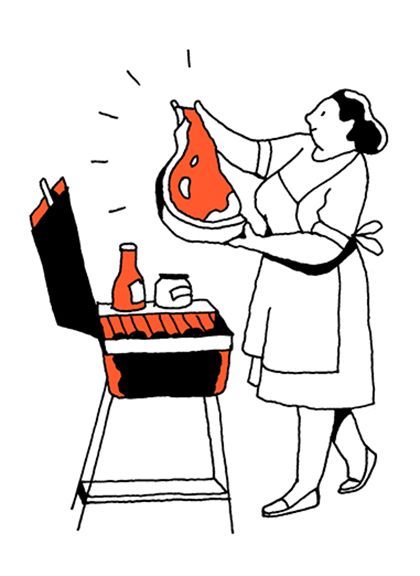 Spots-series-for-The-New-Yorker-magazine-Grill-8-