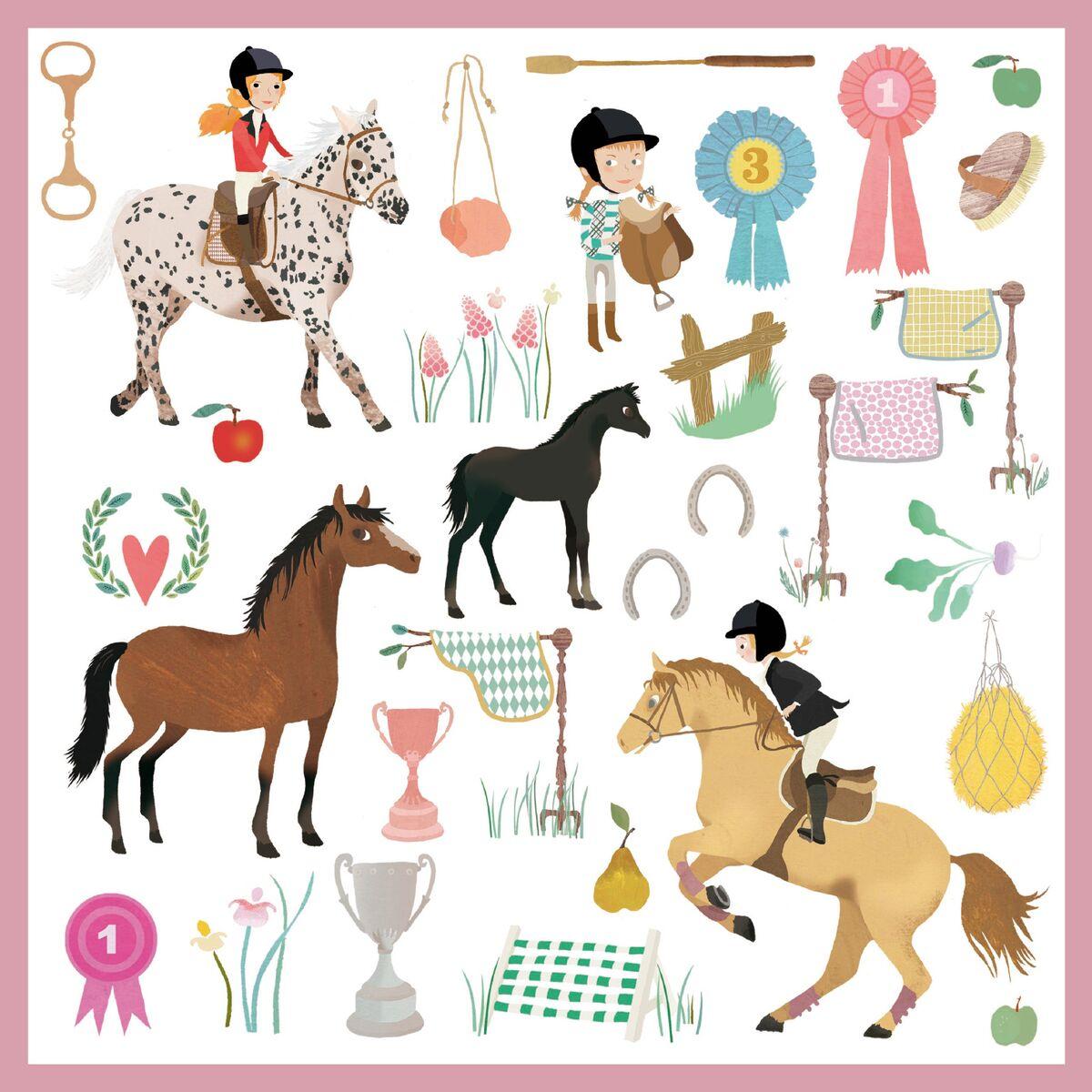 Tinou-Le-Joly-Sénoville-Djeco-Horses-animals