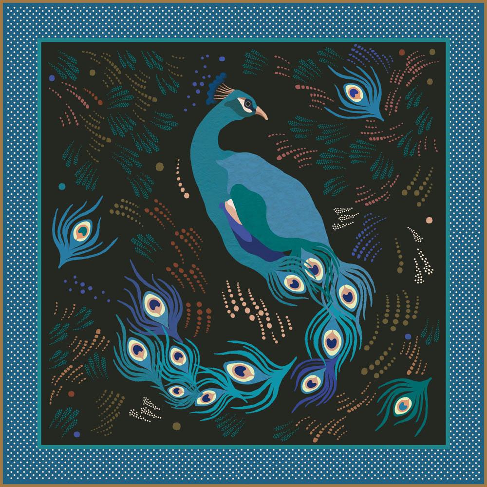 Tinou-Le-Joly-Sénoville-Maison-Montagut-Blue-Peacok