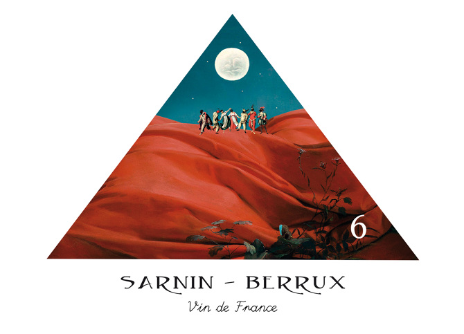 Wine-label-for-French-Winery