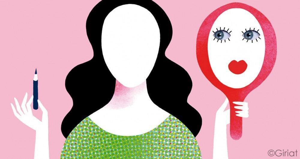 illustration-for-Psychologie-magazine-I-dont-like-to-wear-make-up-