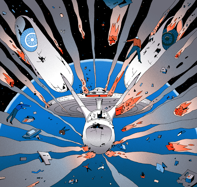 illustration-for-The-New-Yorker-magazine-Star-Trek-Beyond-