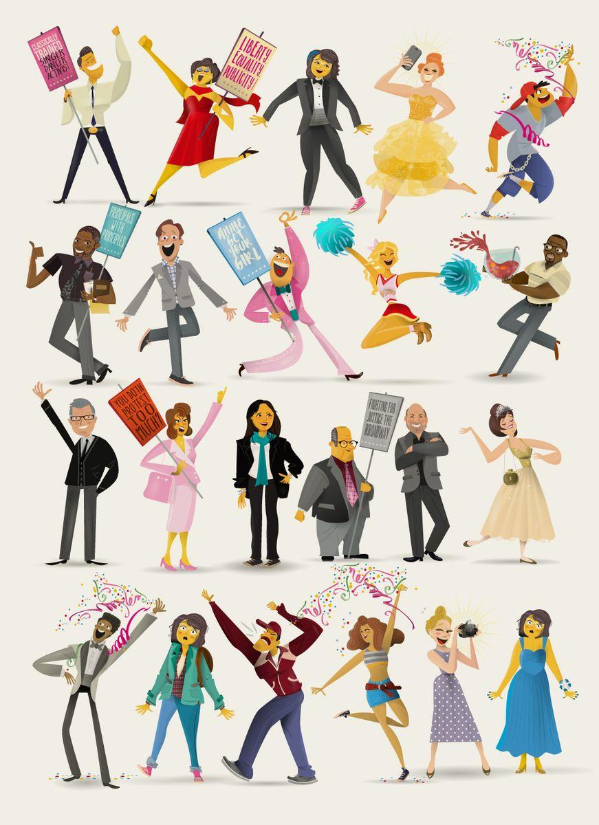 Garance-Rebombo-Studio-07-The-Prom-broadway-Musical-characters