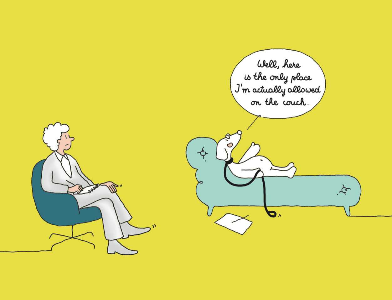 COLOR-IAMSEEINGSOMEONE-Book2Marabout-DogOnTheSofa