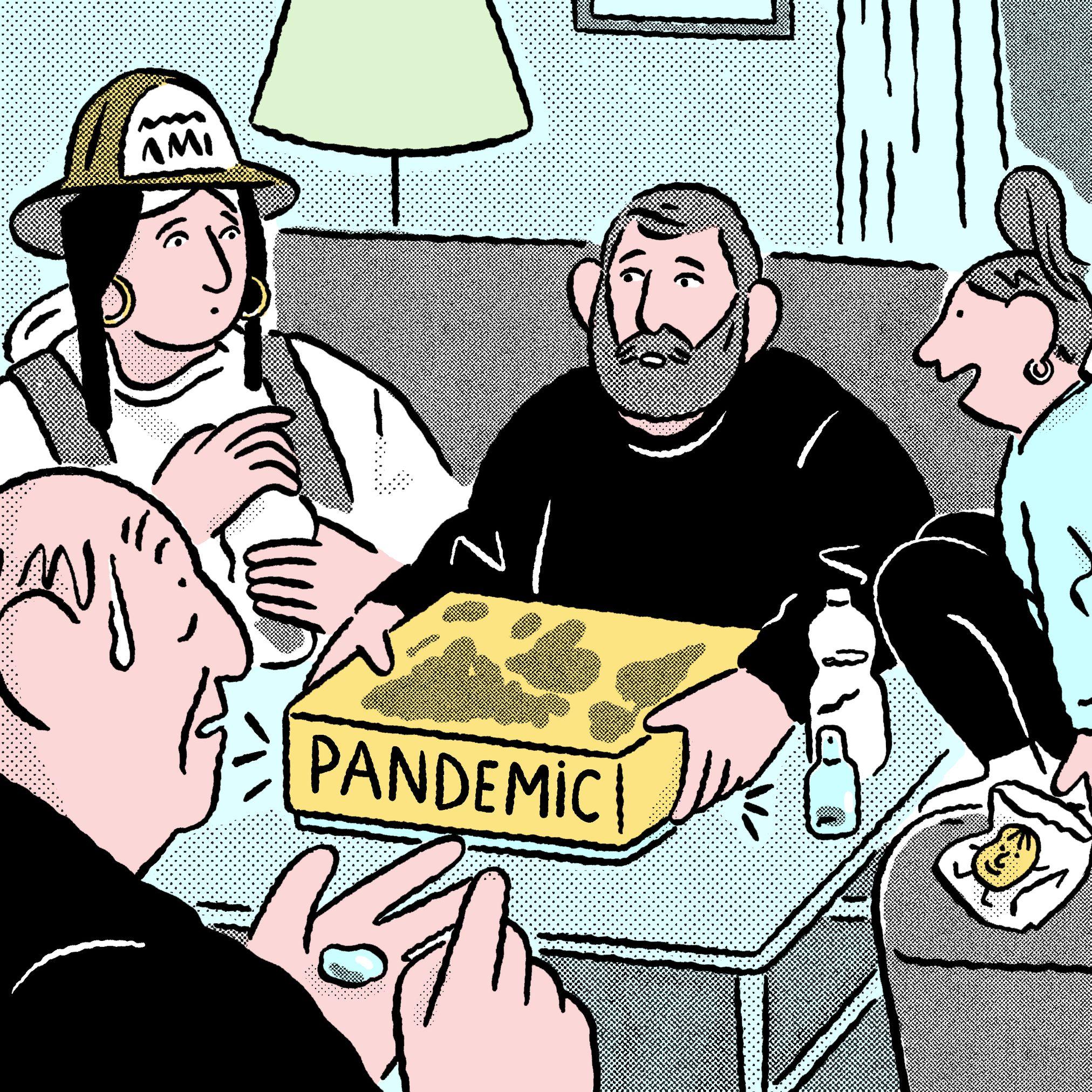 garance-illustration-gwendal-lebec-Experience-Magazine-Pandemic