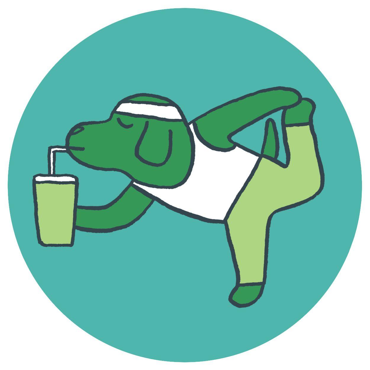 garance-illustration-gwendal-lebec-google-primer-yoga-dog