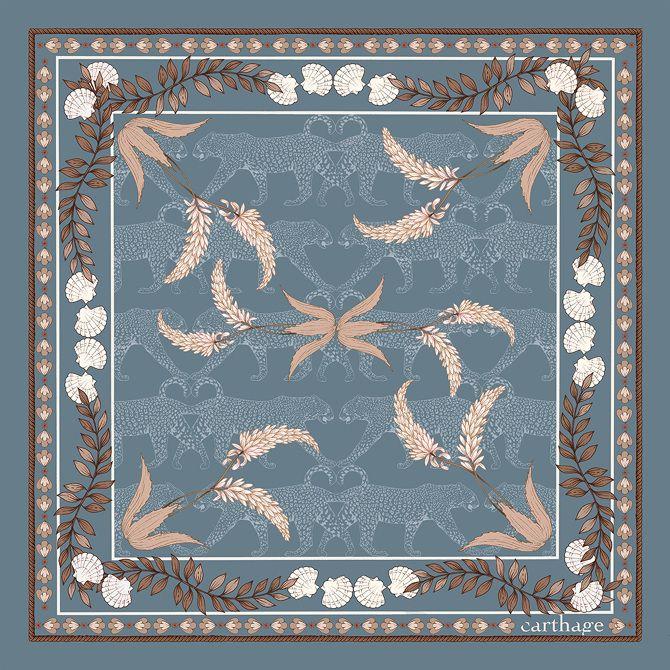 garance-illustration-Frederique-Vernillet-Carthage-Jewelry-Blue-Scarf_web