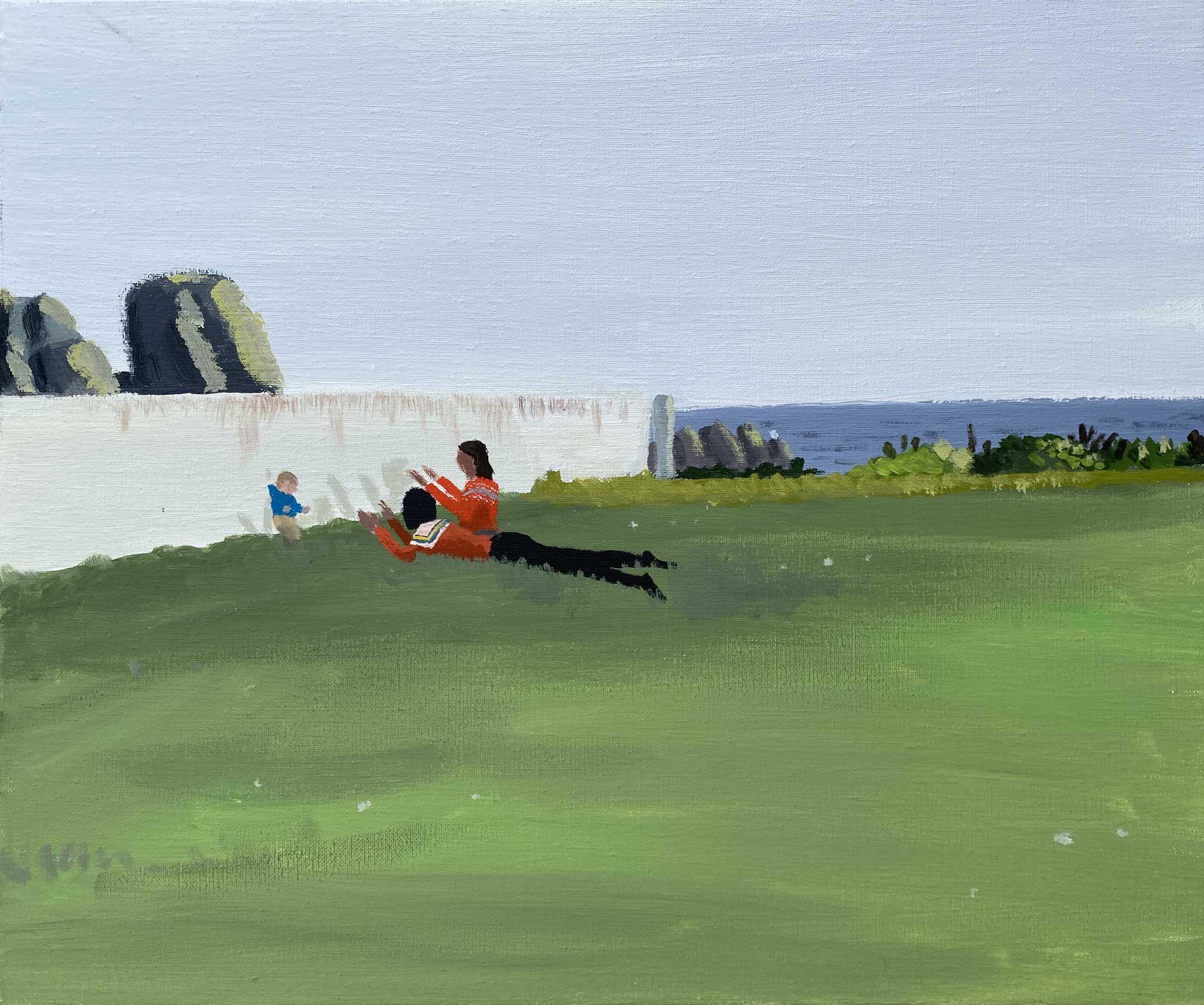 garance-illustration-Jean-Jullien-Home-Slice-Hugo-in-the-Garden