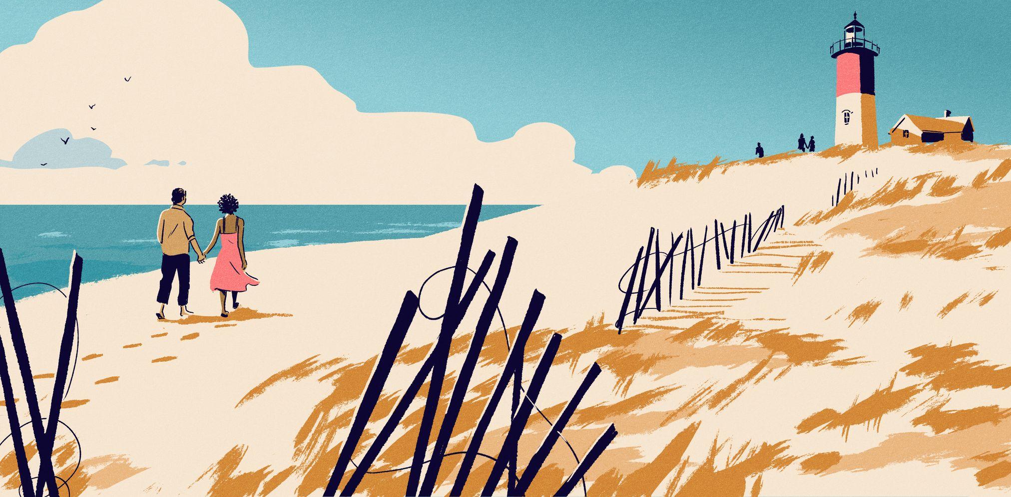 garance-illustration-jack-richardson-The-Boston-Globe-Walk-on-the-Beach