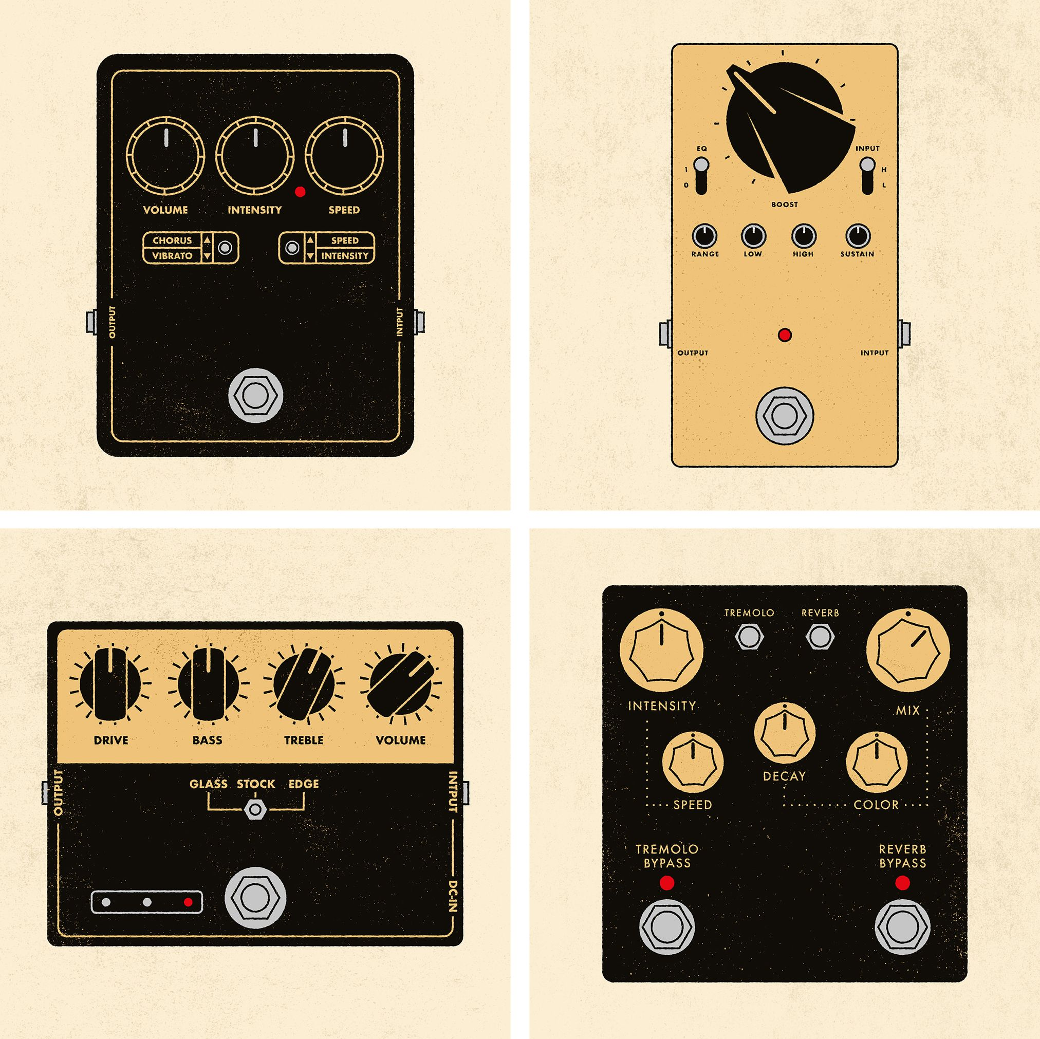 garance-illustration-Personal-project-Guitar-effects-pedals_web