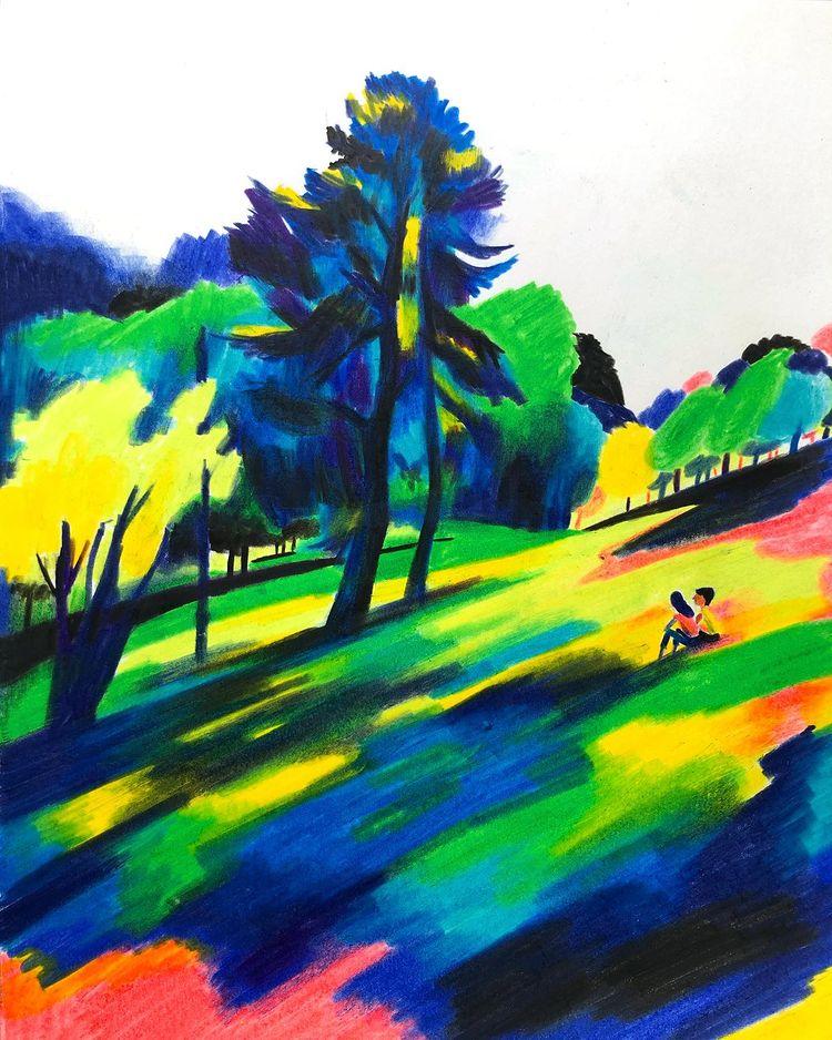 Garance-Illustration-Pierre-Emmanuel-Lyet-The-Park