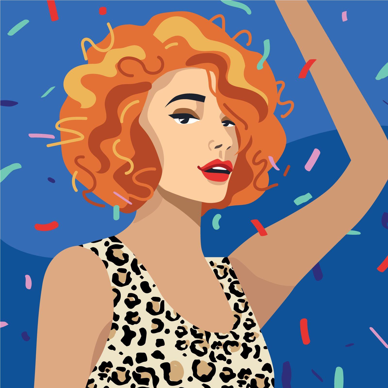 garance-illustration-Irina-Kruglova-Procter-Gambles-Uptown-Twirl-_-It-Curl