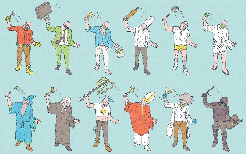 garance-illustration-Kyle-Ellingson-Personal-Work-Uncle-Kristof_s-Midlife-Crisis